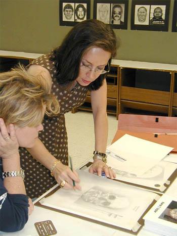 karen t. taylor teaching a student