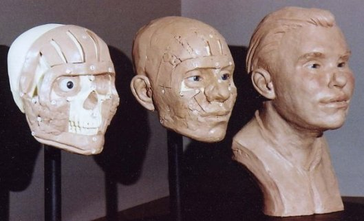 3 Steps of the CSI: Prop Facial Reconstruction by Karen T. Taylor