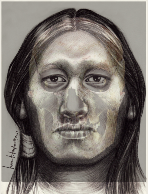 image of fort william henry historical facial reconstruction by karen t. taylor