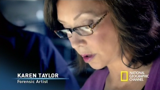 image of karen t. taylor on the decrypters series on national geographic channel