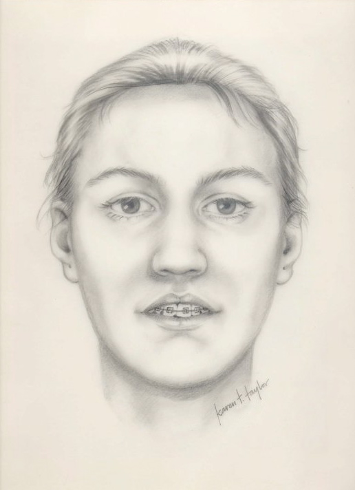 image of facial reconstruction done by karen t. taylor for the Chicago Jane Doe case