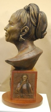 Bronze of Barbara Benton