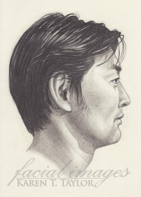 Sketch of Hajime by Karen T. Taylor